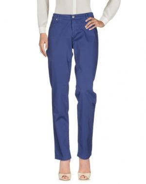 Повседневные брюки ROŸ ROGER'S. Цвет: грифельно-синий