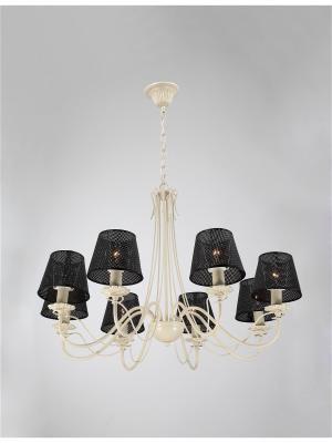 Люстра Bristol 890.8 ivory Lucia Tucci. Цвет: кремовый, белый