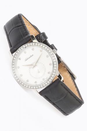 Наручные часы Adriatica. Цвет: серебряный