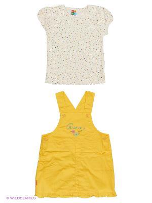 Сарафан DAMY-M. Цвет: желтый
