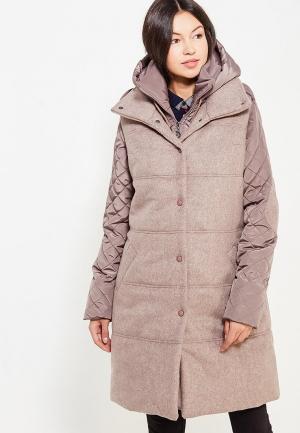 Комплект жилет и куртка DuckyStyle. Цвет: коричневый