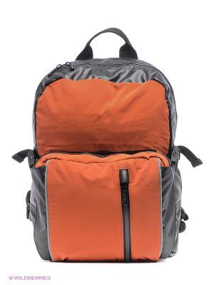 Сумки GEOX. Цвет: оранжевый, черный