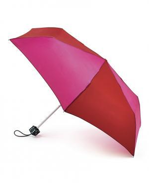 Зонт механический Кубик ручка  by Fulton Lulu Guinness. Цвет: красный