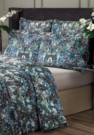 Комплект постельного белья Togas. Цвет: синий
