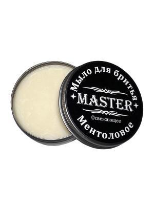 Мыло для бритья Ментоловое, 80 гр. MASTER. Цвет: белый