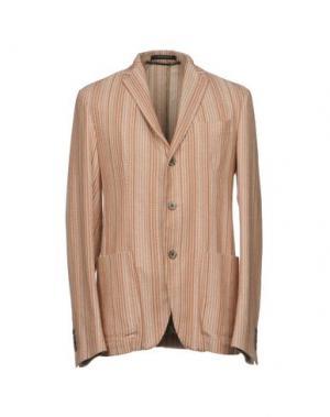 Пиджак MESSAGERIE. Цвет: ржаво-коричневый