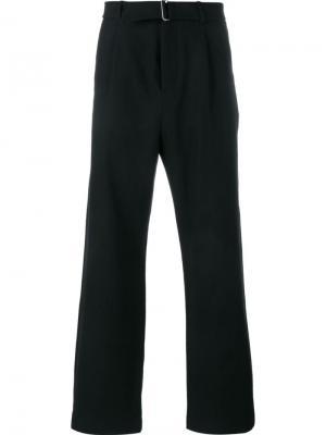 Широкие брюки Lot78. Цвет: чёрный