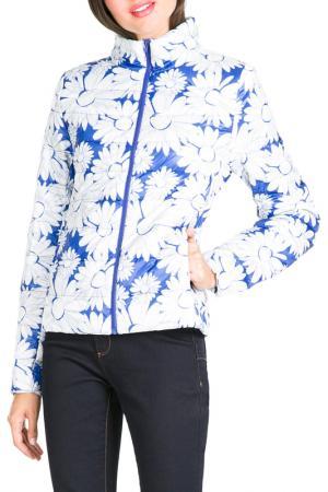 Куртка Desigual. Цвет: white, blue