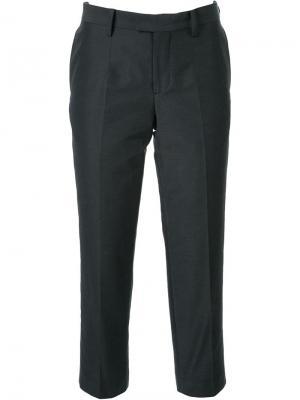 Укороченные брюки Undercover. Цвет: чёрный