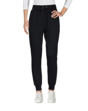 Повседневные брюки HYDROGEN. Цвет: черный