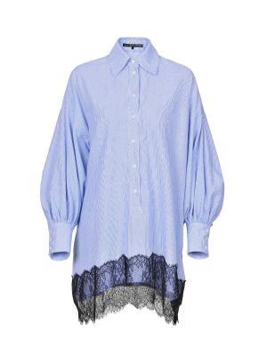 Блузка JN. Цвет: голубой