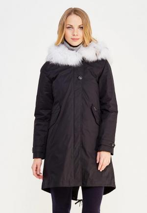 Куртка утепленная Woolrich. Цвет: черный