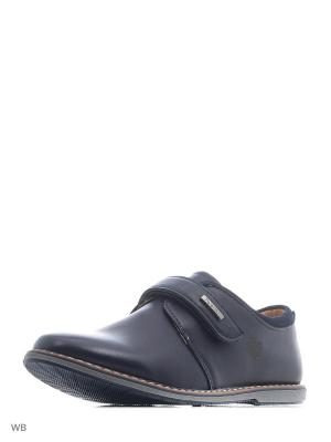 Туфли JONG GOLF. Цвет: темно-синий