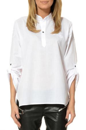 Блуза Yaya. Цвет: белый