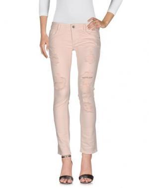 Джинсовые брюки SHIKI. Цвет: розовый