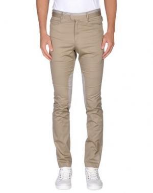 Повседневные брюки GIULIANO FUJIWARA. Цвет: бежевый