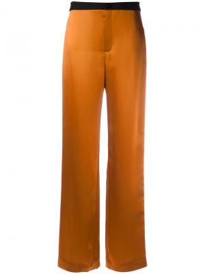 Брюки свободного кроя Lanvin. Цвет: жёлтый и оранжевый