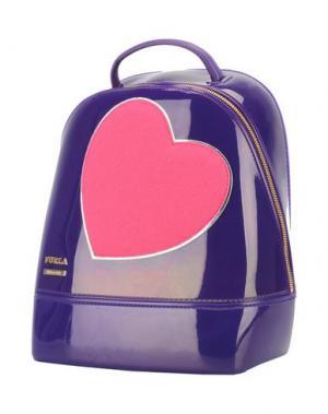 Рюкзаки и сумки на пояс FURLA. Цвет: фиолетовый