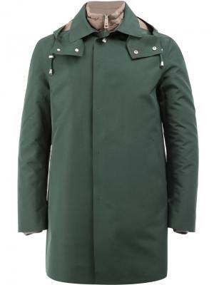 Куртка с капюшоном Kired. Цвет: зелёный