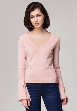 Пуловер Vilatte. Цвет: розовый