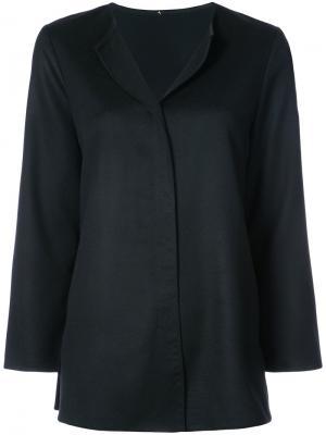 Блузка в стиле туники Peter Cohen. Цвет: чёрный