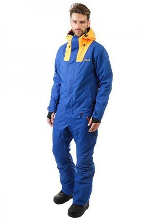 Комбинезон сноубордический  Hot Freedom Suit Royal Mango Insulated Airblaster. Цвет: синий