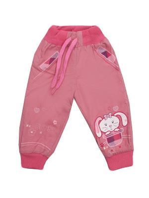 Брюки MINI'A. Цвет: розовый