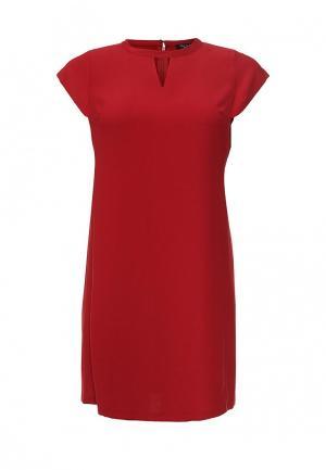 Платье Love My Body. Цвет: красный