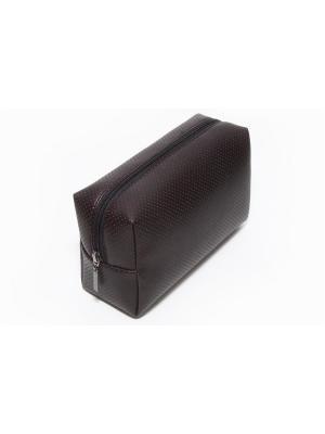 Косметичка-несессер Norton (200х75х110мм) (черный перфорированный) Norton.. Цвет: черный