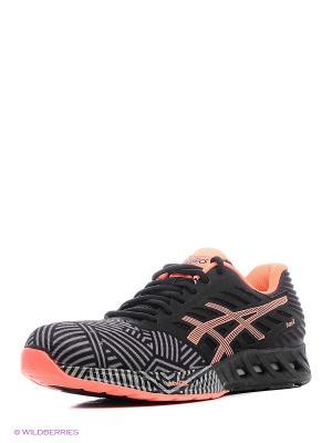 Спортивная обувь fuzeX ASICS. Цвет: серый, коралловый, черный