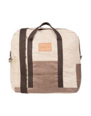 Дорожная сумка HAMAKI-HO. Цвет: бежевый