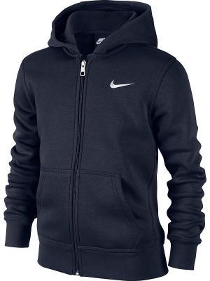 Толстовка B NSW HOODIE YA76 BF FZ Nike. Цвет: черный