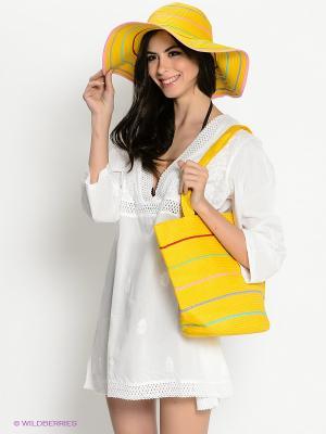 Комплект Moltini. Цвет: желтый