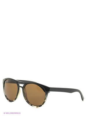Солнцезащитные очки MS 01-234 50P Mario Rossi. Цвет: черный, коричневый