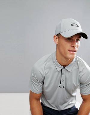 Oakley Серая бейсболка с логотипом Golf Ellipse. Цвет: серый