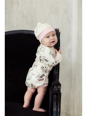 Трусики Феечки Lucky Child. Цвет: темно-серый, молочный, розовый