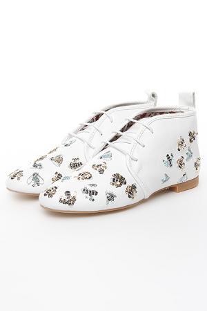 Ботинки Dival & Dino. Цвет: белый