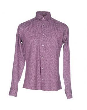 Pубашка HERMAN & SONS. Цвет: пурпурный