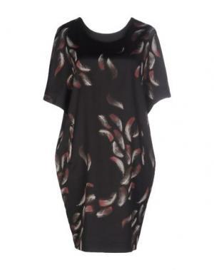 Короткое платье GARAGE NOUVEAU. Цвет: черный