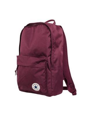 Рюкзак EDC Poly Backpack Converse. Цвет: бордовый