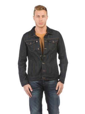Куртка Colin's. Цвет: темно-синий, антрацитовый