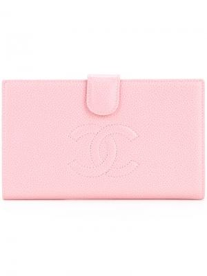 Logo wallet Chanel Vintage. Цвет: розовый и фиолетовый