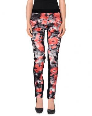 Повседневные брюки LE COMPLICI. Цвет: красный