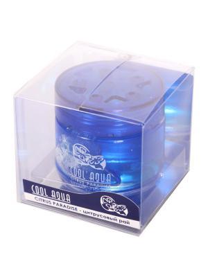 Ароматизатор на панель банка Cool Aqua Цитрусовый рай AZARD. Цвет: синий