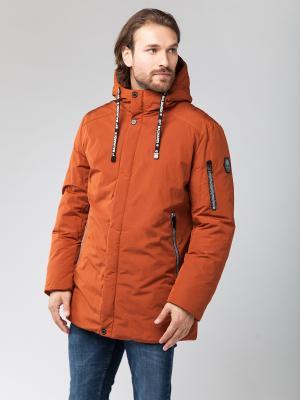 Куртка Malinardi. Цвет: терракотовый