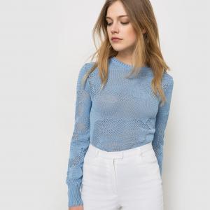 Пуловер Carven x La Redoute. Цвет: черный