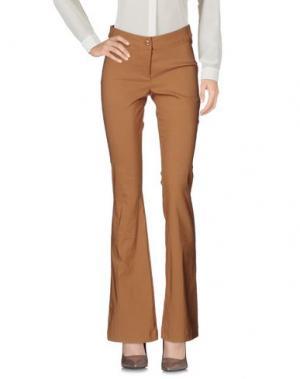 Повседневные брюки LIVIANA CONTI. Цвет: верблюжий