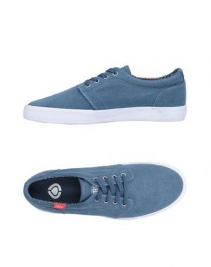Низкие кеды и кроссовки C1RCA. Цвет: грифельно-синий