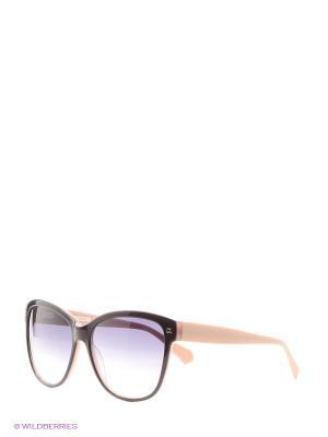 Солнцезащитные очки Enni Marco. Цвет: коричневый