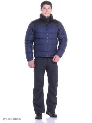 Пуховик The North Face. Цвет: темно-синий